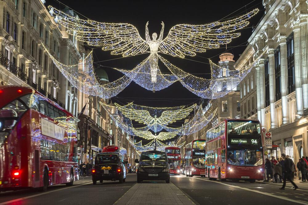 Decoração de Natal na Inglaterra