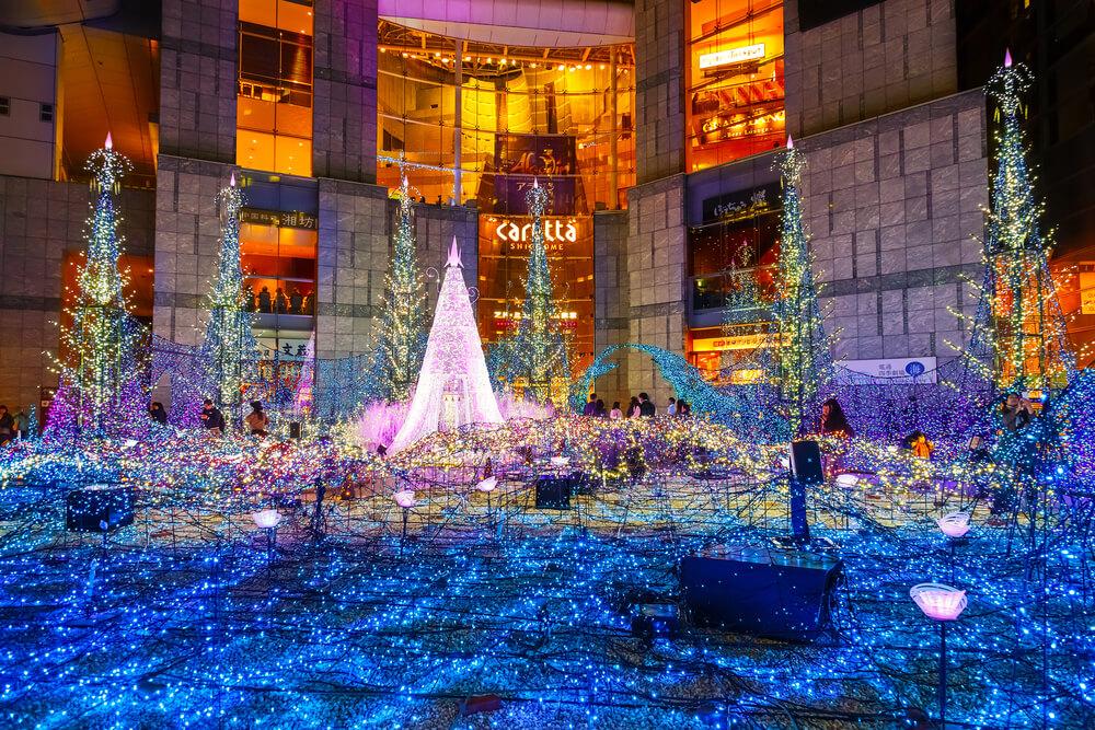 Decoração de Natal no Japão