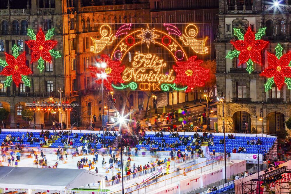 Decoração de Natal no México
