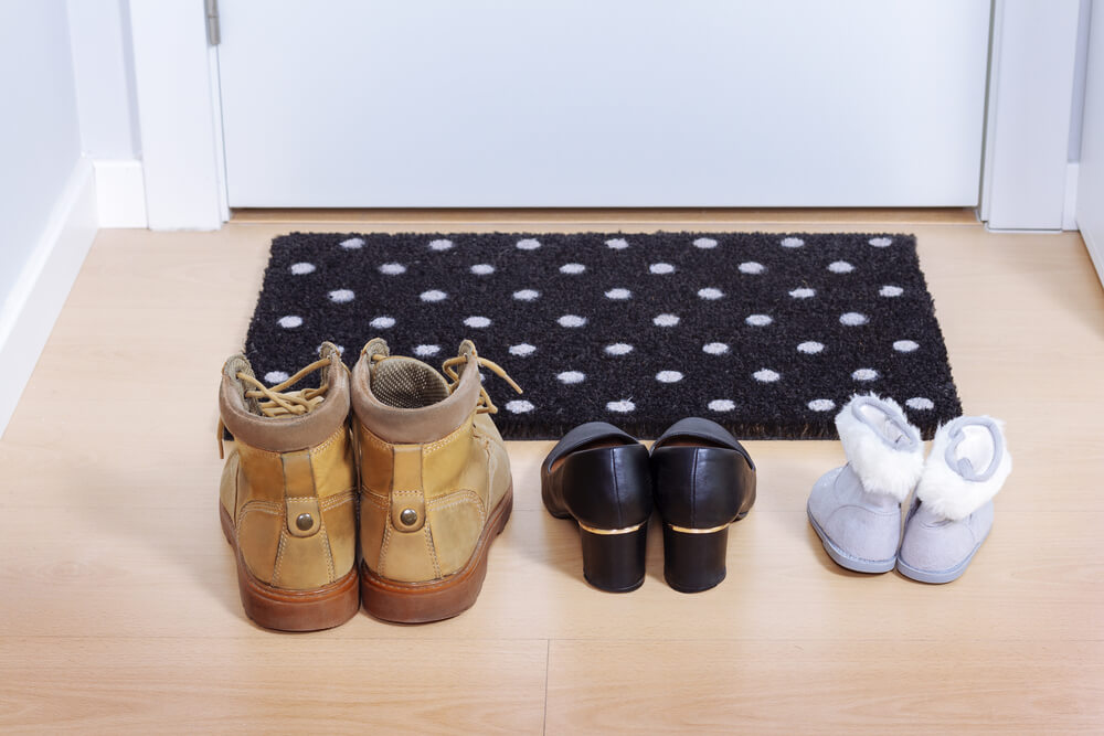 Tirar os sapatos antes de entrar em casa - Japão
