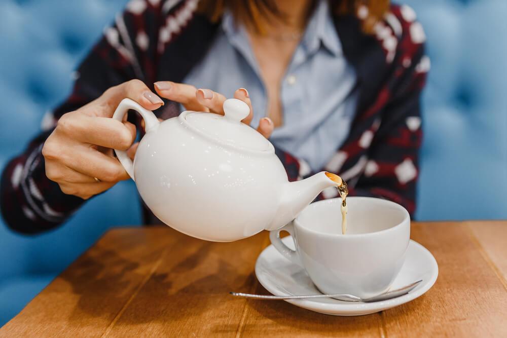 Tradição na INglaterra - Chá