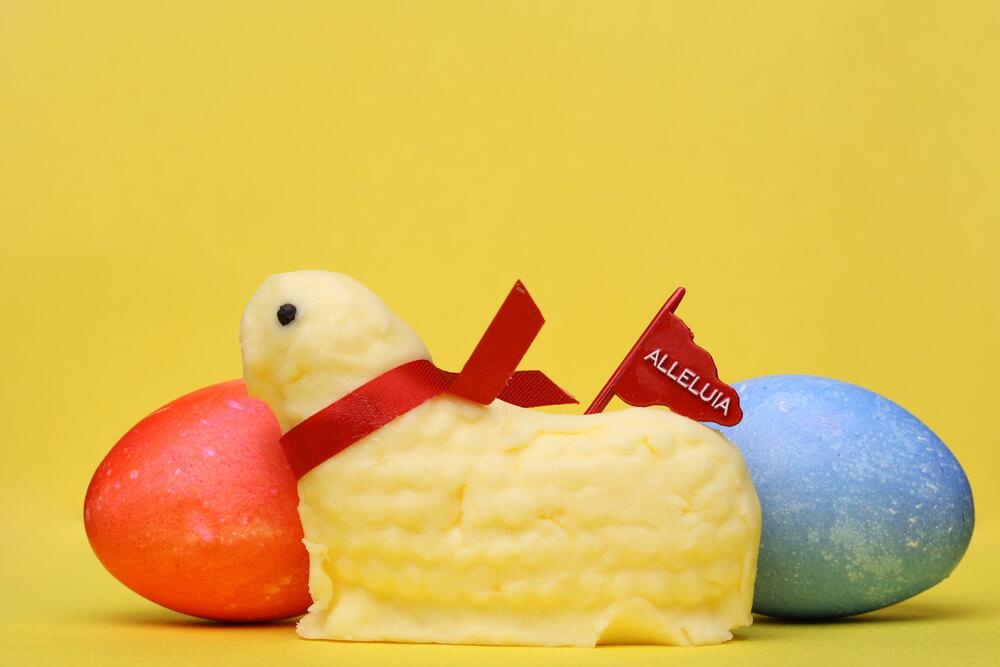 Cordeiro de manteiga
