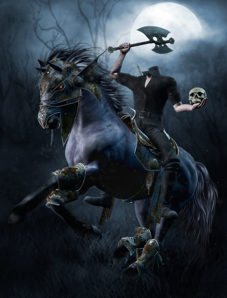 The legend of Sleepy Hollow – A lenda do Cavaleiro sem Cabeça